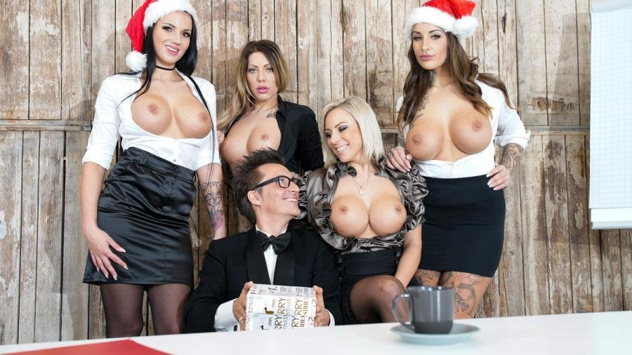 Jolee Love, Lilli Vanilli And Mia Blow - German babes Jolee Love & Lilli Vanilli in Christmas group sex affair Pt.1 (Babe, Big Tits, Group) [FullHD 1080p] - PornDoePremium.com