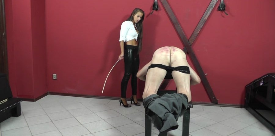 Mistress Amanda - RED FACE, RED ASS (Femdom, Humilation) [HD 720p] - Cruel-Strapon.com