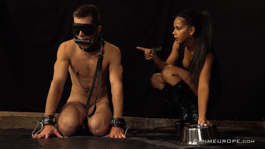 Alan Carly, Isabella Chrystin - Personal Slave (Femdom, Strapon) [FullHD 1080p] - CFNMEurope.com