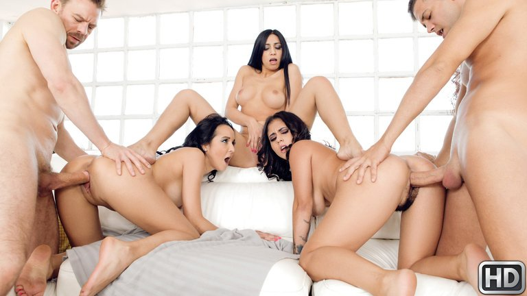 Julia De Lucia, Francys Belle, Aysha - Our Euro Sex Trip (Orgy, Amateur) [HD 720p] - EuroSexParties.com
