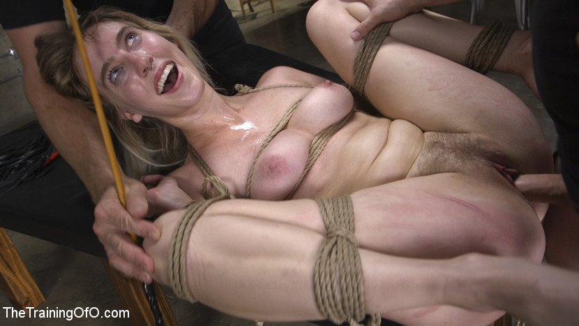 Tommy Pistol, Cadence Lux - Gorgeous Blonde Cadence Lux is a Good Whore (Female Slave, Master) [HD 720p] - TheTrainingOfO.com