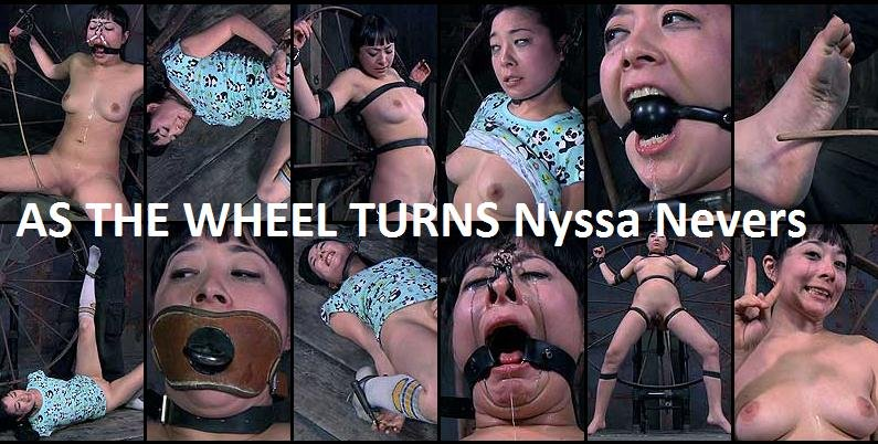 Nyssa Nevers - As the Wheel Turns (BDSM, Bondage) [SD] - InfernalRestraints.com