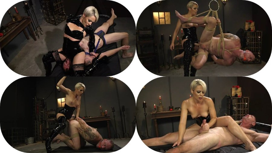 Helena Locke - The Femdom Lifestyle - Real Couple Plays Hard (Strap-on, Bondage) [SD] - Kink.com