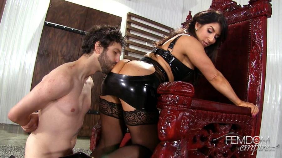 Raven Hart - Shockingly Cruel Smother (High Heels, Stockings) [FullHD 1080p] - FemdomEmpire