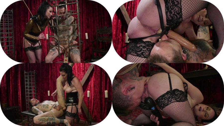 Veruca James - Disobedient Masturbating Slave Punished and Fucked with a Fat Cock (Strap-on, Bondage) [SD] - Kink.com