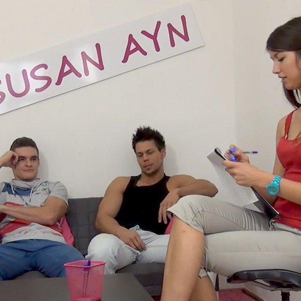 Susan Ayn - Agent Susan gets fucked well by two guys () [SD] - SusanAyn.com/PornCZ.com