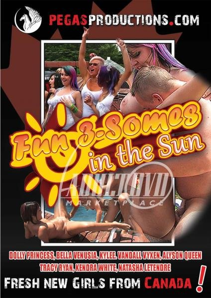 Fun 3-Somes In The Sun (2015/WEBRip/HD)