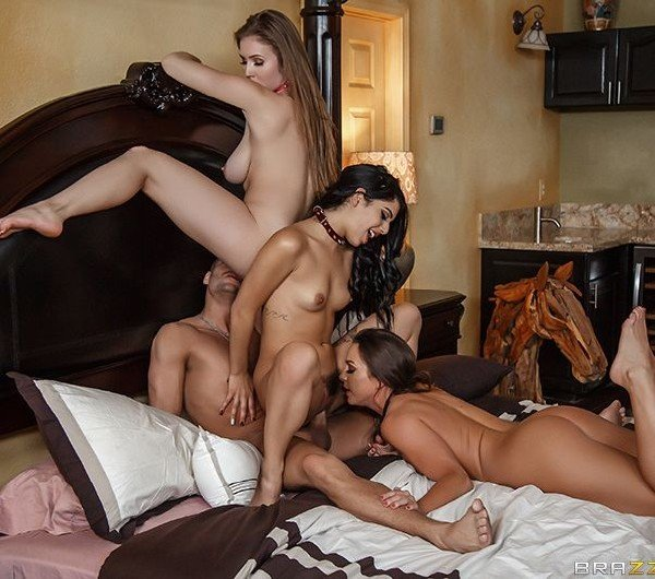 Abigail Mac, Gina Valentina, Lena Paul - Xanders World Tour - Ep.4 () [SD] - ZZSeries/BraZZers
