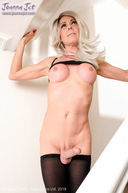 Joanna Jet - Me and You 301 / Staircase Sheer (Shemale, Solo) [FullHD 1080p] - JoannaJet.com
