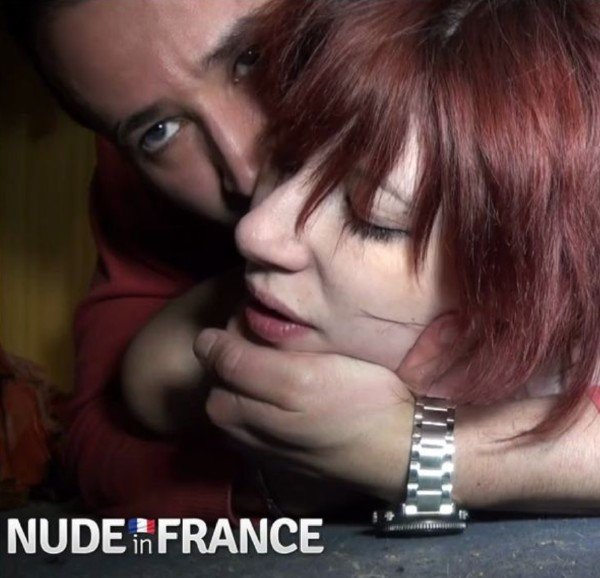 Pandora Doll - A real redhead slut student hard banged between two delevries () [SD] - NudeInFrance.com