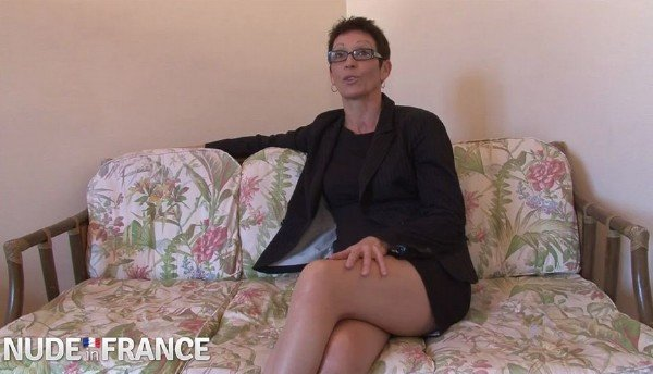 Diana - Dirty old whore fucks huge young cock (Milf) [HD] - NudeInFrance.com