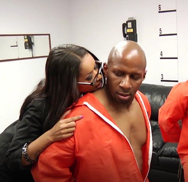 Skin Diamond - Fake lawyer takes two hungry cocks in prison (Ana) [SD] - PinkoClub.com