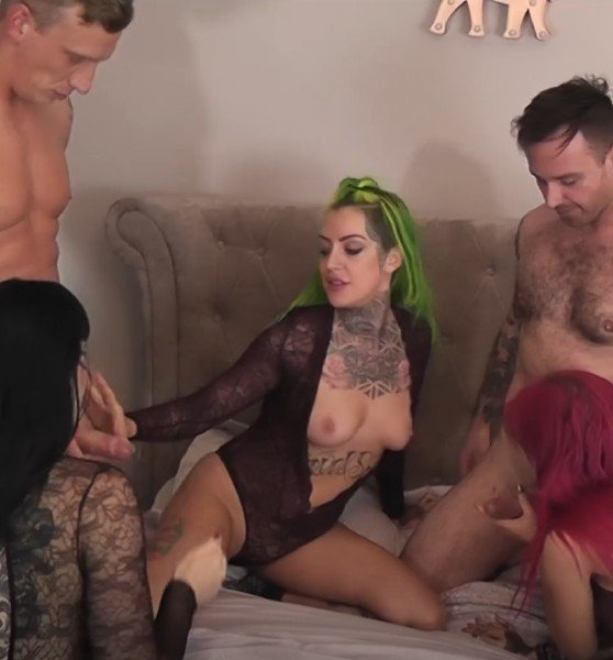 Alexa Vice, Phoenix, Sexy Cleo - Group Sex (Group) [SD] - LukeHardyXXX.com