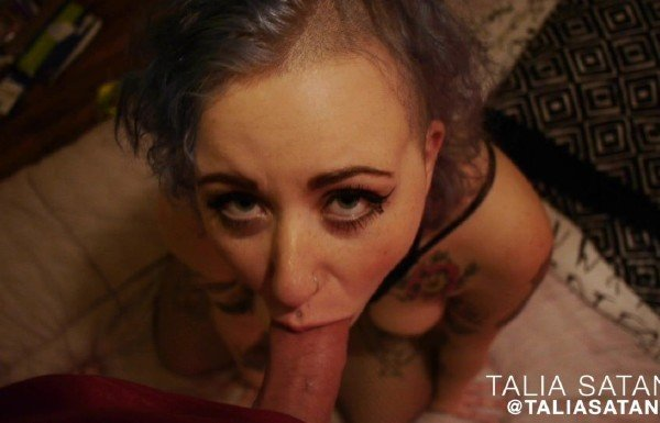 Talia Satania - Talia Satania camera whore (Blowjob) [HD] - ManyVids.com