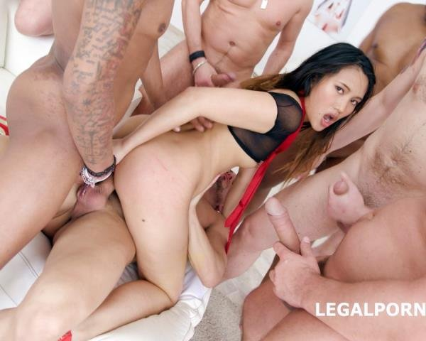 Anal thai blackended gapes deep may and with balls think