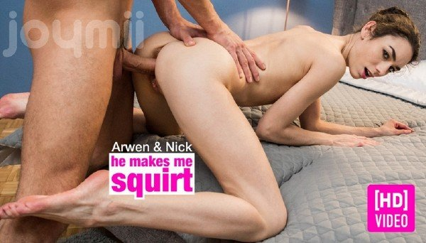 Arwen Gold - He Makes Me Squirt () [SD] - JoyMii.com