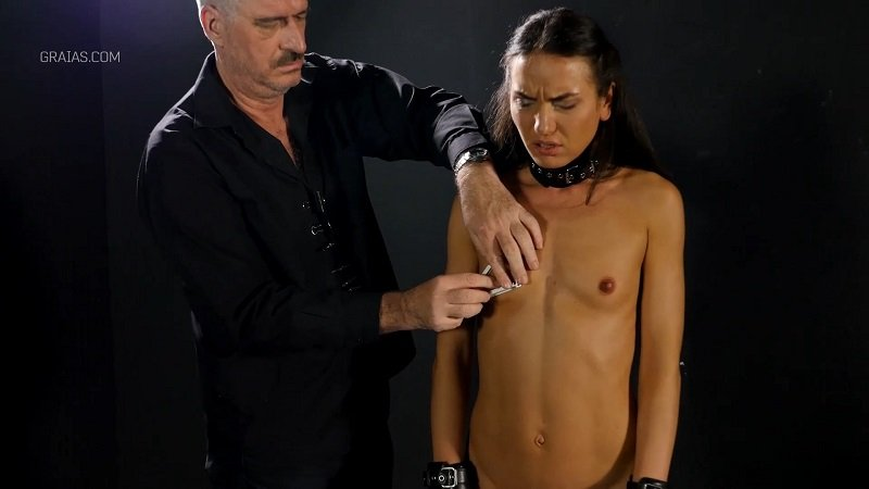 Natalie - Making The Shy Lingerie Model Suck Cock Part 1 (BDSM, Torture, Humiliation) (Casting) [FullHD 1080p] - Elite Pain