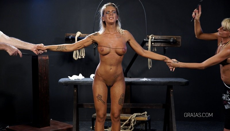 BDSM, Torture - Dressage Part 2 (BDSM, Bondage) [FullHD] - Graias