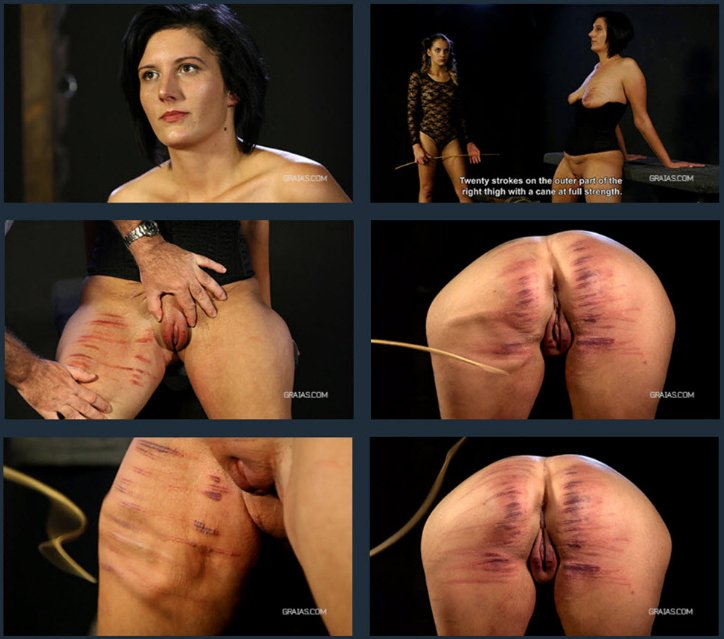 Roxy - Roxy And The Wheel Of Full Pain (Part 2 / BDSM, Torture, Humiliation) (BDSM, Bondage) [FullHD] - Graias
