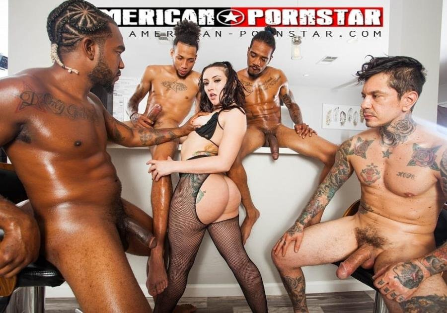 Mandy Muse - Mandy Muse 4 on 1 (Hardcore) [SD] - American-Pornstar.com