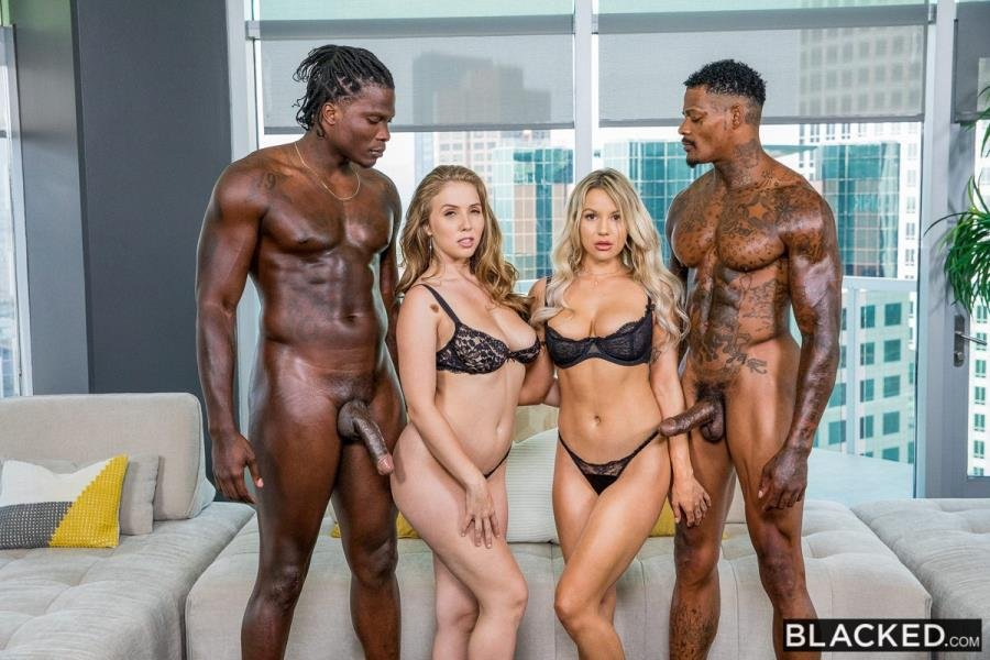 Kylie Page, Lena Paul - Best Friends For Ever (Blonde) [SD] - Blacked.com