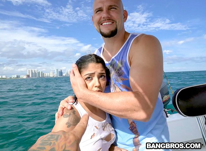 Vanessa Sky - Cuban Hottie Gets Rescued at Sea (Latina) [SD] - BangBrosClips
