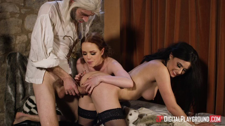 Ella Hughes  Olive Glass - The Bewitcher: A DP XXX Parody Episode 4 (Blowjob) [SD] - DigitalPlayground.com