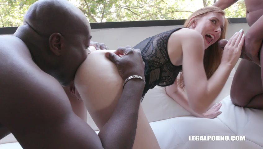 Linda Sweet, Joachim Kessef, Tony Brooklyn, Max Rajoy - Linda Sweet is coming to enjoy kinky sex with black cocks  double anal IV202 () [SD] - LegalPorno.com