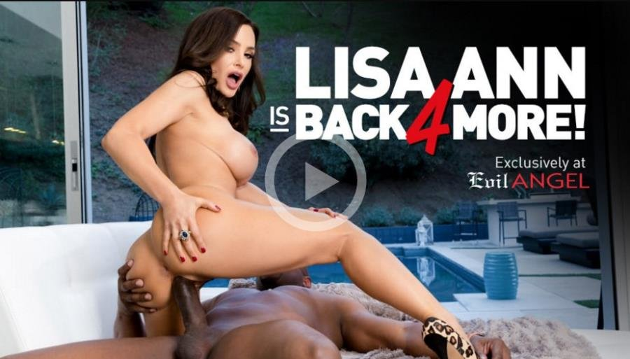 Lisa Ann - Interracial Casting Couch () [SD] - EvilAngel.com