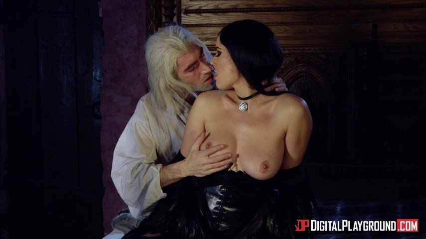 Olive Glass - The Bewitcher A DP XXX Parody Episode 2 (Blowjob) [SD] - DigitalPlayground.com
