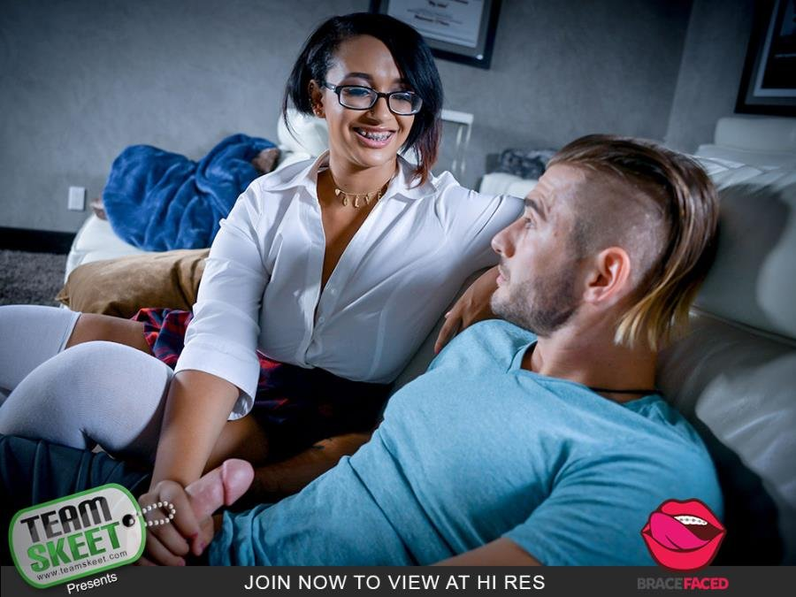 Emori Pleezer - Stand And Deliver My Dick () [SD] - BraceFaced.com / TeamSkeet.com