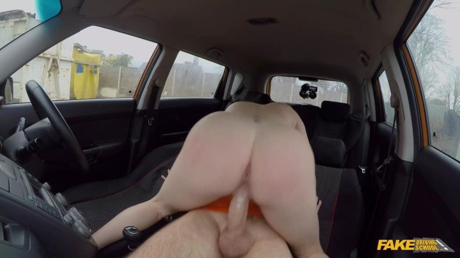 Georgie Lyall - Instructor Spunks In GeorgieS Mouth (Big Tits) [SD] - FakeDrivingSchool.com