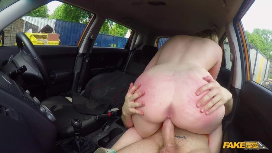 Satine Spark - x Learners Arse Spanked Red Raw (Blonde) [SD] - FakeDrivingSchool.com