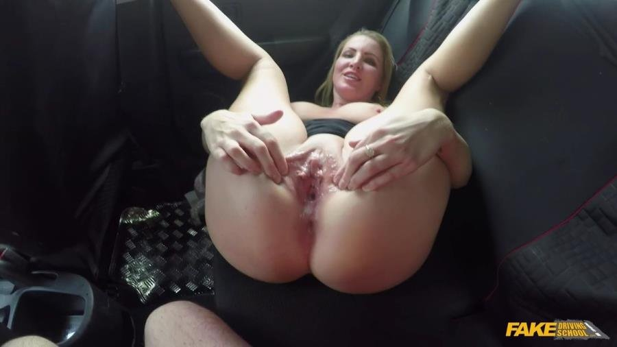 Georgie Lyall - Off Duty Sex (Blowjob) [SD] - FakeDrivingSchool.com