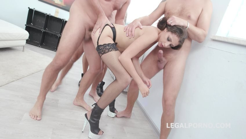 Avi Love, Neeo - Dirty Talk Avi Love gets Balls Deep Anal, DAP, Gapes, Soft Manhandle, Swallow GIO825 (Gangbang) [SD] - LegalPorno.com