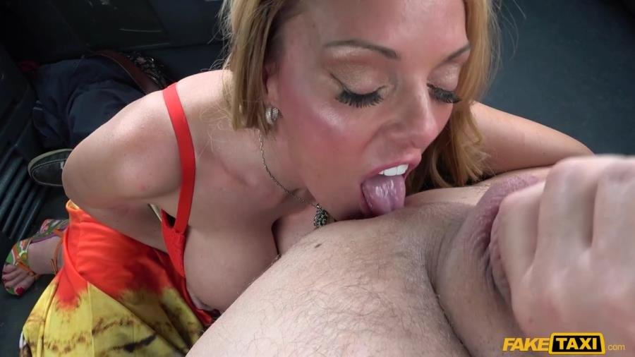 Stacey Saran - Sex Addict Fucks In Taxi (Blonde) [SD] - FakeTaxi.com / FakeHub.com