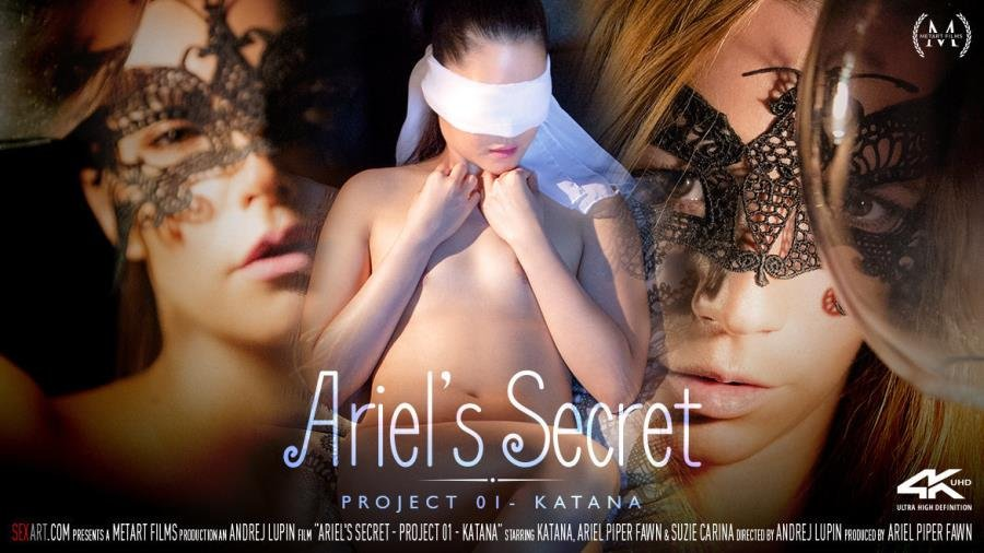 Ariel Piper Fawn, Katana, Suzie Carina - Ariel's Secret: Project 01 - Katana (Asian) [SD] - SexArt.com