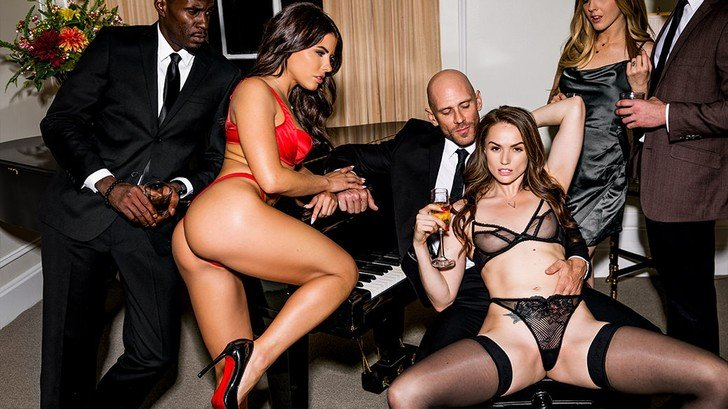 Tori Black, Adriana Chechik - After Dark Part 2 () [SD] - Vixen.com