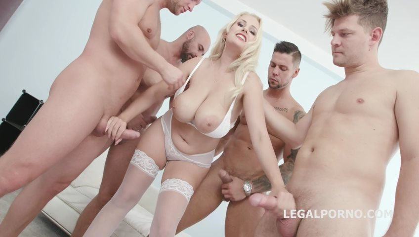 Angel Wicky - BlackEned with Angel Wicky 4 white then 4 black Balls Deep Anal DAP Gapes Cum on Tits Facial GIO849 (Facial) [SD] - LegalPorno