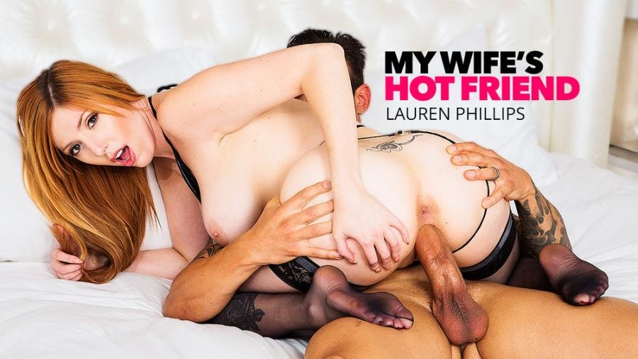 Lauren Phillips - Lauren Phillips Milks A Big Cock (Big Tits) [SD] - MyWifesHotFriend.com