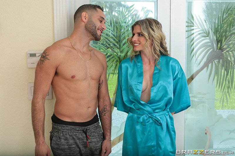 Cory Chase - Hot  Sweaty Day (Blonde) [SD] - MilfsLikeItBig.com