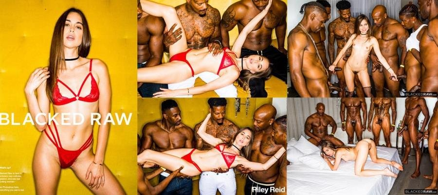 Riley Reid - Girlfriend Gangbang At The After Party (Gangbang) [SD] - BlackedRaw.com