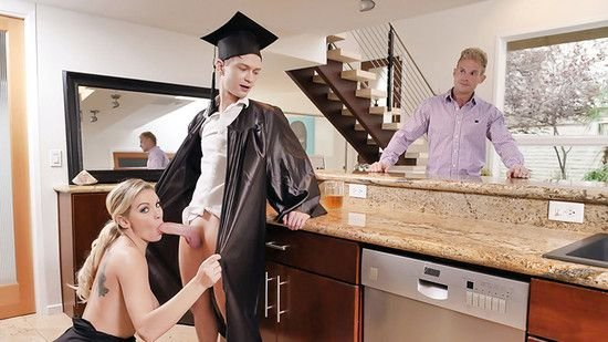 Kenzie Taylor - Cap And Gown Dick Down (Milf) [SD] - FamilyStrokes.com / TeamSkeet.com