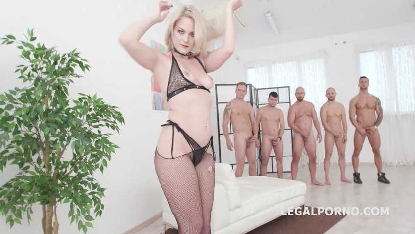 Lisey Sweet - Monsters of TAP, Lisey Sweet gets 4on1 with Balls deep Anal  DAP, TAP, Dapes, Swallow GIO816 (Gangbang) [SD] - LegalPorno