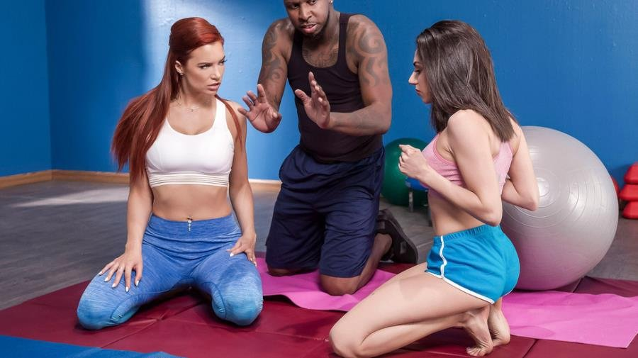 Darcie Dolce, Jayden Cole - Pilates for Hotties (Brunette) [SD] - HotAndMean.com / Brazzers.com-Год производства: 2019 г.