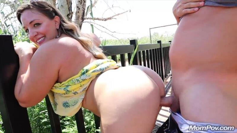 Violet  - Outside bonus fuckin (Blowjob) [SD] - MomPov.com