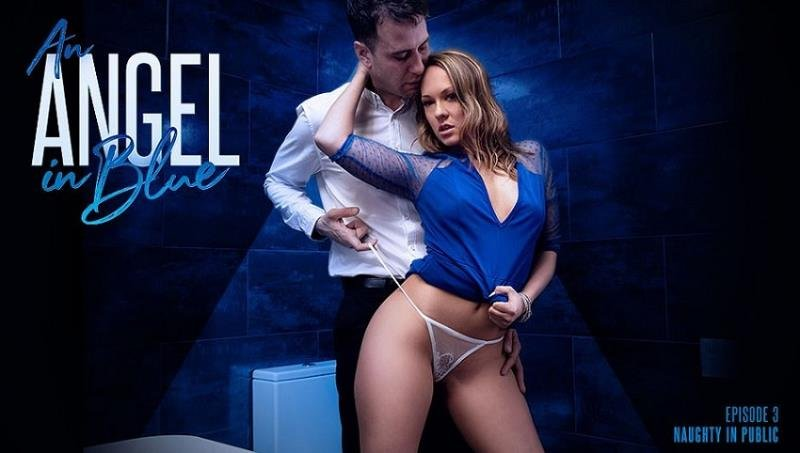 Blue Angel  - An Angel In Blue: Naughty In Public  () [SD] - Asshole fever