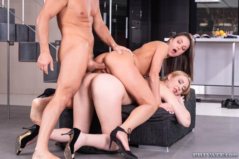 Alyssa Reece, Amaris - Birthday Threesome With Debutants (Mature) [SD] - TightAndTeen.com