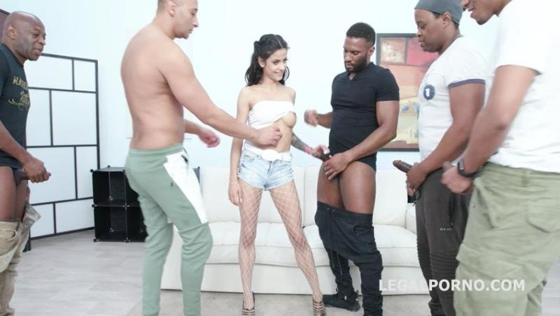 Sandra Soul - Waka Waka Blacks are coming Sandra Soul gets 5 BBC Balls deep anal, DAP, Gapes, Creampie and Swallow GIO1072 (Gangbang) [SD] - Legal