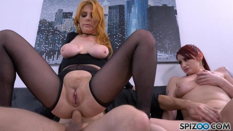 PENNY PAX, VIOLET MONROE - The New Boss Is Hot As Fuck (Blowjob) [SD] - Spizoo.com